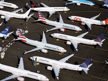 Parked Boeings
