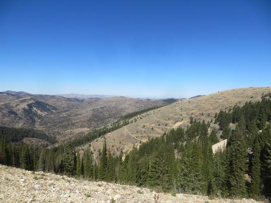 Idaho mining country