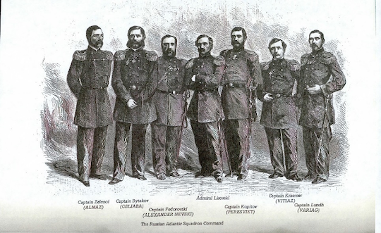 Russian officers