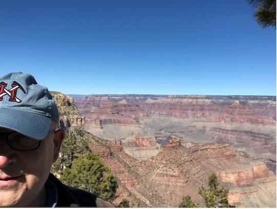 Byron at Grand Canyon