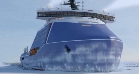 Russian nuclear icebreaker